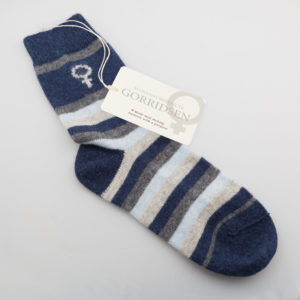 Magnolia Striped Grey/Blue