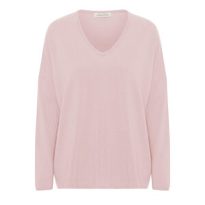 Stella V-neck Highland Rose