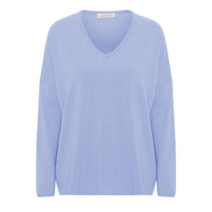Stella V-neck Pastel Blue